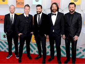 Old Dominion on the Red Carpet in Las Vegas for the ACM Awards