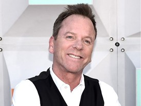 Keifer Sutherland Hits Las Vegas to Attend the ACM Awards at the MGM Grand Garden Arena