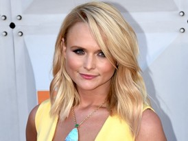Miranda Lambert Comes to the ACM Awards in Las Vegas at the MGM Grand Garden Arena