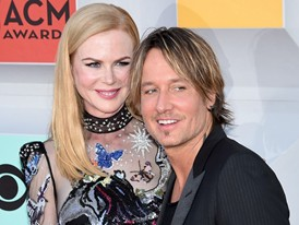 Keith Urban and Nicole Kidman on the Red Carpet in Las Vegas