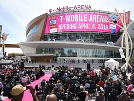 T-Mobile Arena opening day