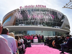 T-Mobile Arena opening day celebration