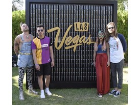 DNCE at the #WHHSH Las Vegas Party in Palm Springs