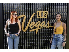 Icona Pop celebrates the unveiling of #WHHSH Beer at Las Vegas Party in Palm Springs
