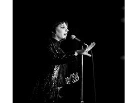 Liza Minelli at the Riviera