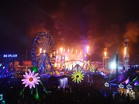 Fireworks at EDC