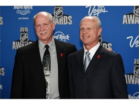 Marty Howe and Mark Howe