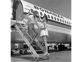 Tony Bennett at McCarran International Airport