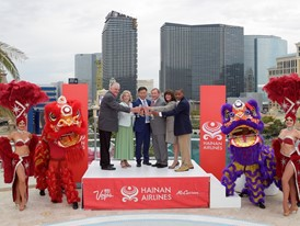 Hainan Airlines toast