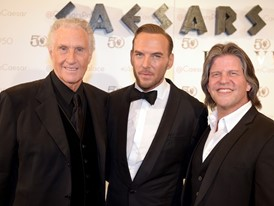 The Righteous Brothers and Matt Goss Walk the Red Carpet at Caesars Palace in Las Vegas