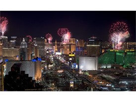 New Year's Even on the Las Vegas Strip