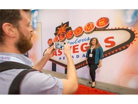 LVCVA's new trade show booth debuts at IMEX