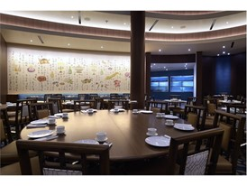 Pearl Ocean restuarant at the Lucky Dragon Tuesday