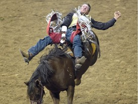 National Finals Rodeo Kicks Off in Las Vegas