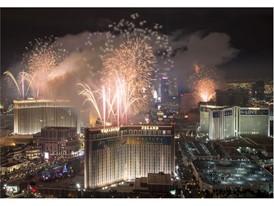Las Vegas rings in 2017