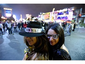 New Year's Eve on the Las Vegas Strip