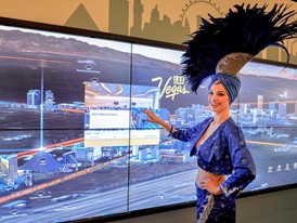 Las Vegas touch-screen
