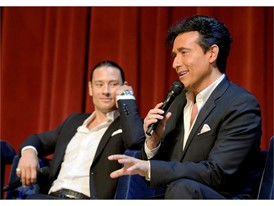 Urs Buhler, left, and Carlos Marin of Il Divo