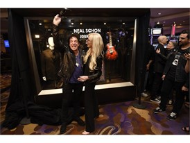 Journey guitarist Neal Schon and his wife Michaele Schon