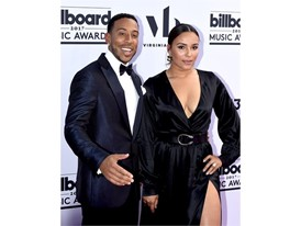 Ludacris and wife Eudoxie Mbouguiengue