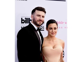 Sam Hunt and wife Hannah Lee Fowler