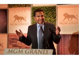 MichaelDominguez,MGMResortsInternationalseniorvicepresident