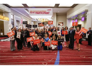 Las Vegas Joins Meetings Industry Professionals for Surprise Rally During MPI WEC 2016
