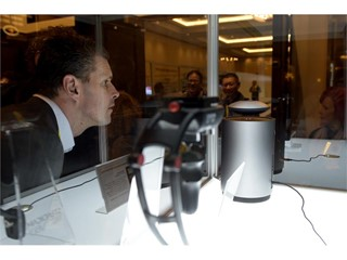 Levitating wireless speaker