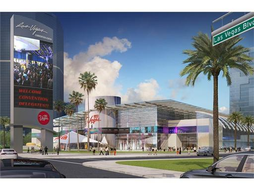Las Vegas Global Business District Conceptual Drawing Day