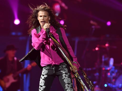 Aerosmith's Concert 'Blue Army Tour' in Las Vegas