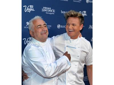 Gordon Ramsey and Guy Savoy Celebrate Vegas Uncork'd