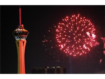 Stratosphere Casino, Hotel & Tower Fourth of July fireworks