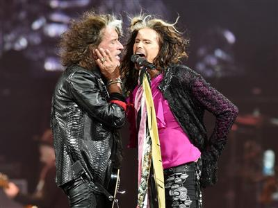 Concert Highlights: Aerosmith 'Blue Army Tour' in Las Vegas
