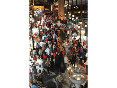 Food festiaval at Vegas Uncork'd