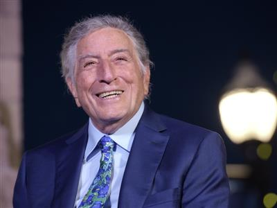 Keep Memory Alive's 20th Annual Power of Love Gala Honoree Tony Bennett Recognized with Las Vegas Marquee Display and Street Renaming