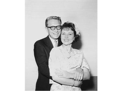 Allen Ludden and Betty White