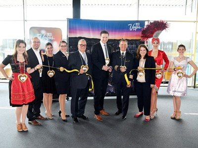 Las Vegas Welcomes Condor Airlines First Nonstop Flight from Munich