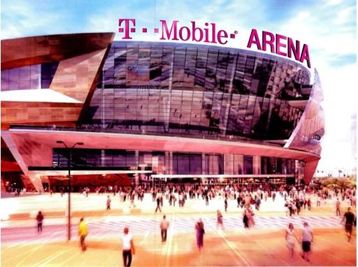 T-Mobile Arena Las Vegas Rendering