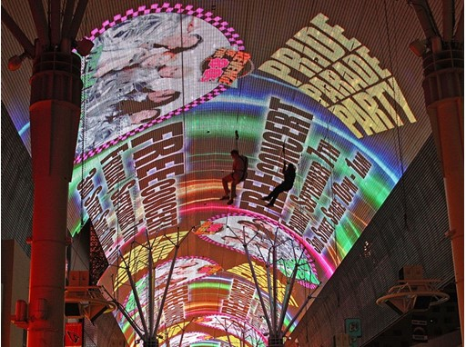Fremont Street Experience Celebrates PRIDE
