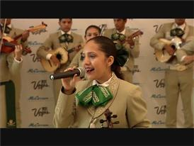 Las Vegas Mariachi Band Greets Tourists at McCarran International Airport for El Grito Weekend
