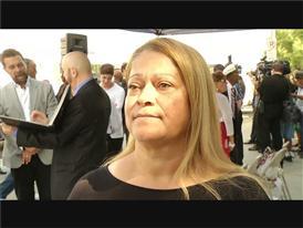 Tracey Davis Salutes Her Father, Sammy Davis, Jr. at a Street Dedication in Las Vegas