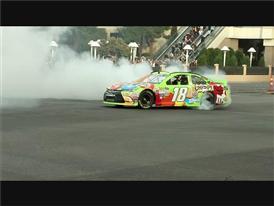 NASCAR Drives Into Las Vegas with a Burnout on the Las Vegas Strip