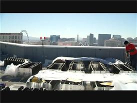 Las Vegas Preps for America's Party 2016 as Fireworks Are Setup and Ready To Go