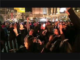 Thousands Party on the Las Vegas Strip to Ring-In 2016!