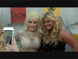 Celebrities Walk the Red Carpet in Las Vegas at the ACM Awards