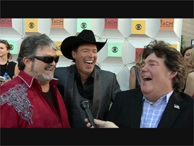 Country Legends Shenandoah Walk the Red Carpet in Las Vegas