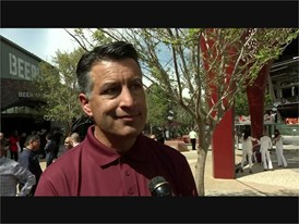 Governor Brian Sandoval Joins MGM Resorts for the Opening of 'The Park' on the Las Vegas Strip