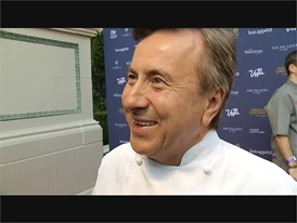 Chef Daniel Boulud of db Brasserie at the Venetian Talks About Cooking in Las Vegas