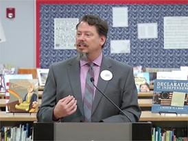 Clark County School District in Las Vegas Works To Education Students on Presidential Debate