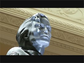 Michael Jackson HIStory Statue Unveiled at Mandalay Bay in Las Vegas